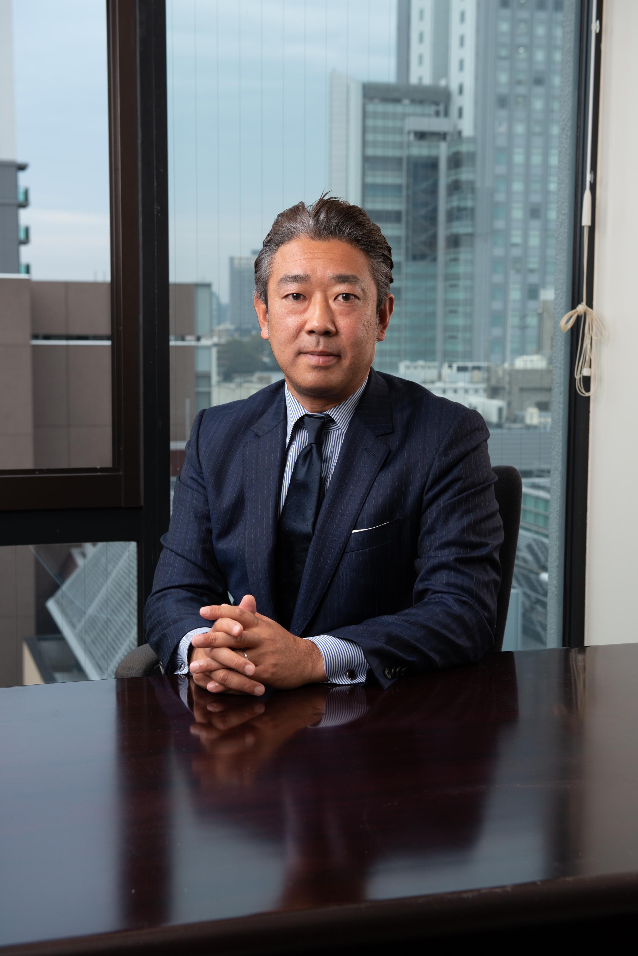 株式会社STRASSE 代表取締役社長 荻野 憲治
